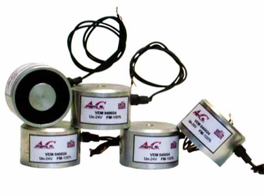 Electroimanes Ventosas Cilíndricas Electropermanentes Hasta 60ºC