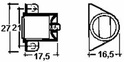 Esquema Cierres Magneticos de Bloqueo Regulables CF12