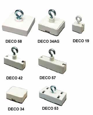 Imanes de Oficina Bases Magneticas Decoracion Cuerpo de plastico