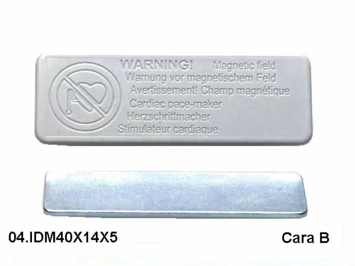 Imanes de Oficina Identificadores magneticos Portaetiquetas Cara B