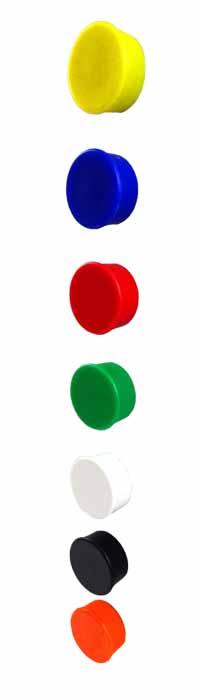 Imanes de Oficina Imanes para Pizarras Circulares varios colores