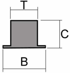 Medidas Sistemas Magneticos Colgadores Magneticos Profesional para Industria Alimentaria INOX