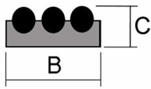 Medidas Sistemas Magneticos Colgadores Magneticos uso Domestico Acero Inoxidable