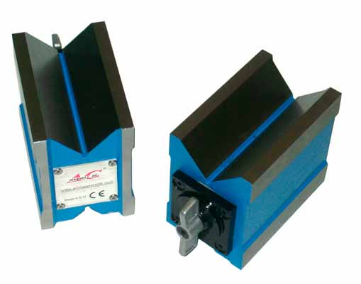 Sistemas Magneticos Base Magnetica Desconectable cara activa en V