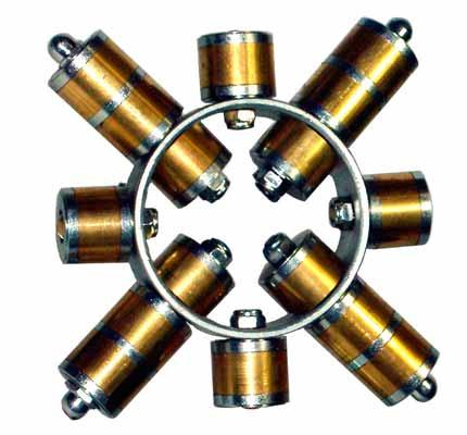 Sistemas Magneticos Filtraje Rejilla Ceramica magnetica Cuadrada