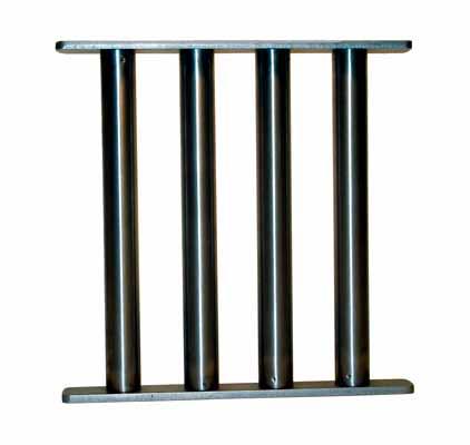 Sistemas Magneticos Filtraje Rejilla Magnetica simple Rectangular